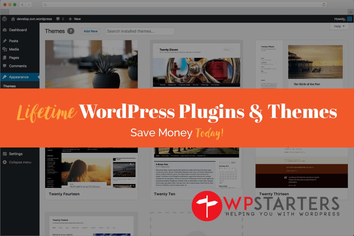 Lifetime WordPress Plugins & Themes
