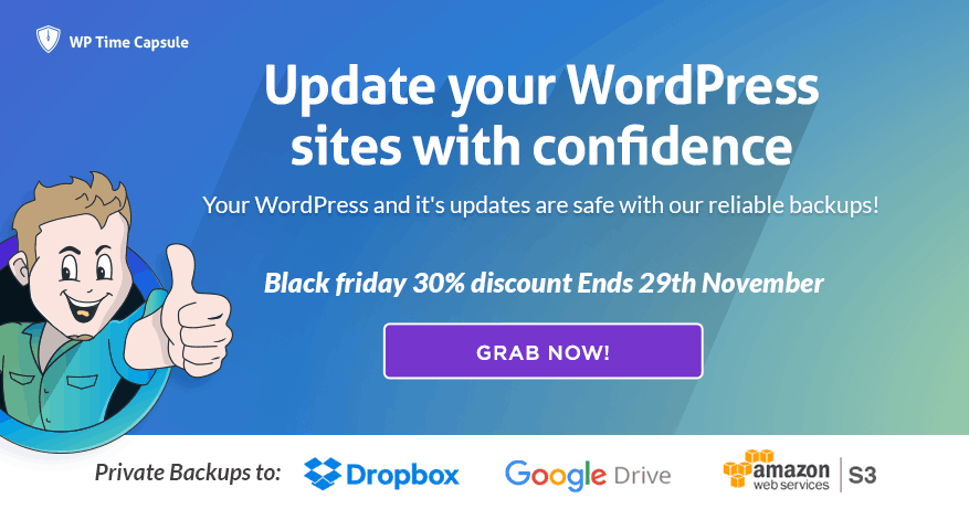 WP Time Capsule: Essential WordPress Plugin