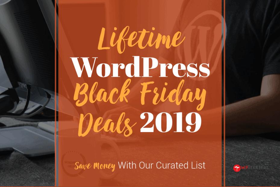 Lifetime WordPress Black Deals 2019