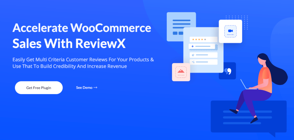ReviewX is the latest plugin by WPDeveloper that allows you to create multi-criteria reviews and display them beautifully in your store