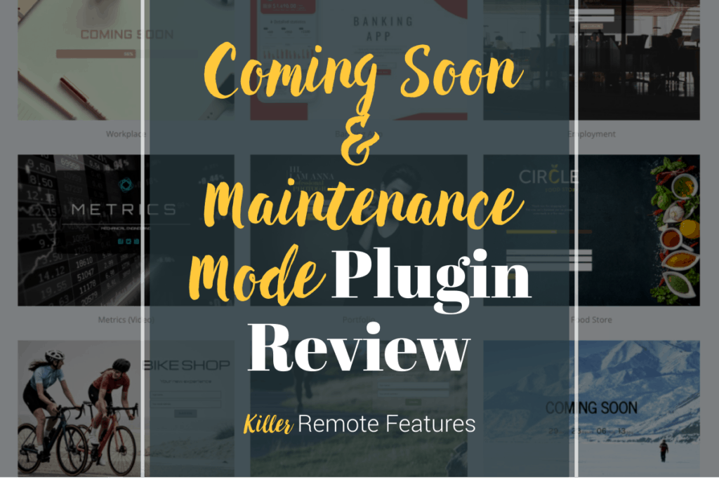 Coming Soon & Maintenance Mode Plugin Review