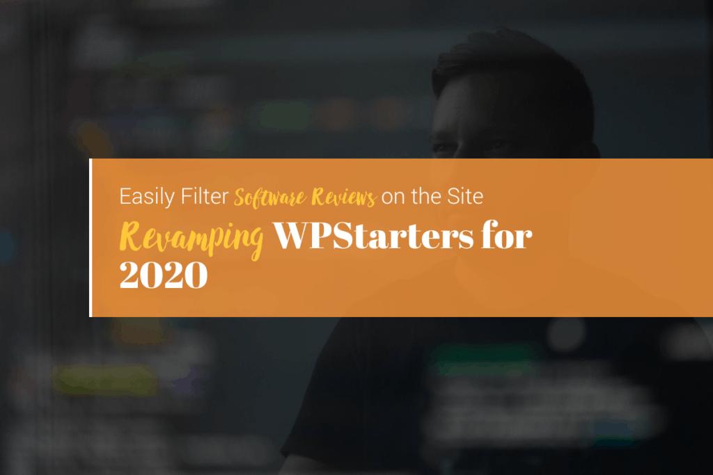 Revamping a WordPress website