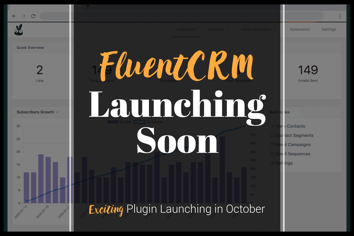 fluentcrm coming soon