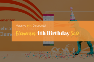 elementor birthday sale 2020